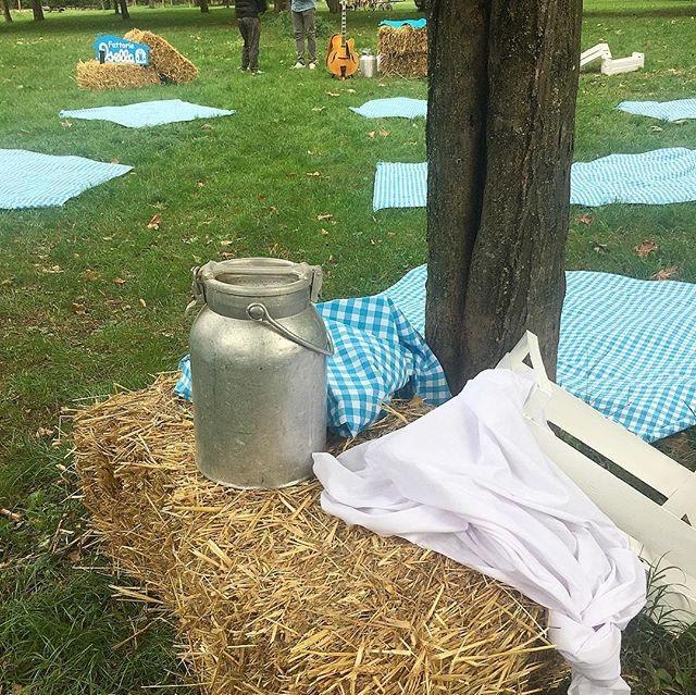 Io&te e voi. Un picnic pieno di sorrisi.