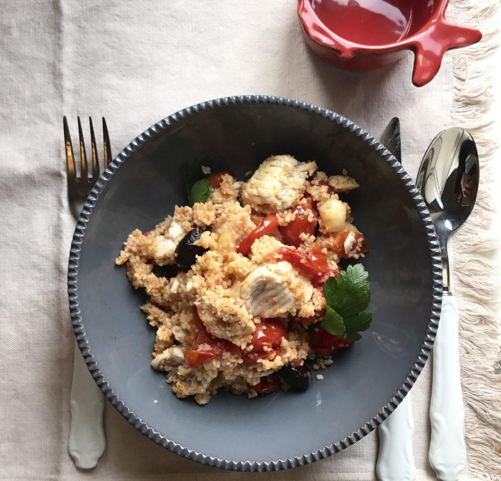cous cous con filetti di gallinella - chiara maci - Come Cucinare Filetti Di Gallinella