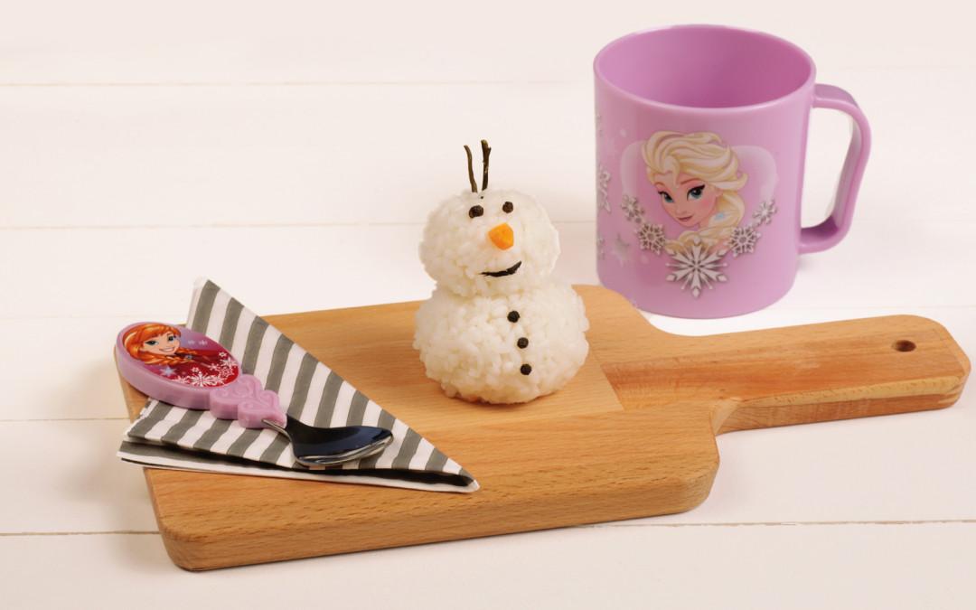 Polpette di riso alla Olaf!