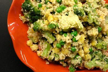 cous cous e verdure