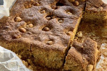 torta di nocciole