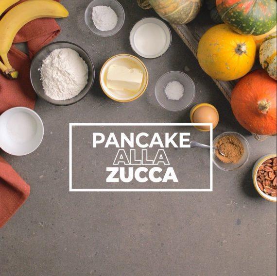 pancake di zucca